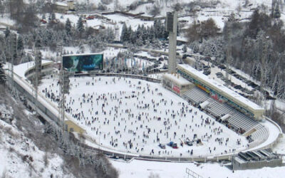 La patinoire Médéo (Almaty)