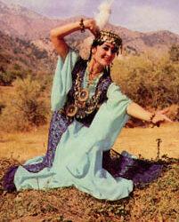 Le costume traditionnel des femmes