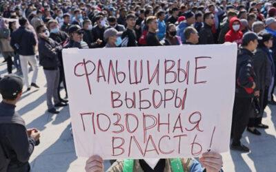 Kirghizstan: un mort dans les heurts, résultats des législatives annulés